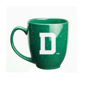 Dartmouth 15 oz. Deep Etched Green Bistro Mug