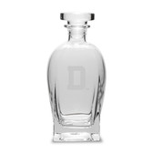 Dartmouth College 23.75 oz.  Deep Etched Rossini Decanter