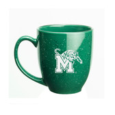 Memphis Tigers 15 oz. Deep Etched Green Bistro Mug