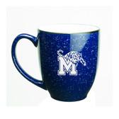 Memphis Tigers 15 oz. Deep Etched Cobalt Bistro Mug