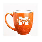 Mississippi State Bulldogs 15 oz. Deep Etched Orange Bistro Mug