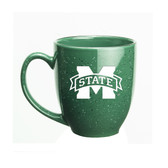 Mississippi State Bulldogs 15 oz. Deep Etched Green Bistro Mug