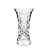 North Dakota Sioux 9.25 inch Deep Etched Cristal D'Arques Vase