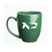 North Dakota Sioux 15 oz. Deep Etched Green Bistro Mug