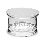 Penn Quakers 5 inch Deep Etched Crystal Candy Bowl