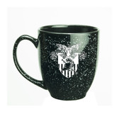 West Point 15 oz. Deep Etched Black Bistro Mug