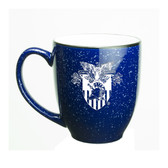 West Point 15 oz. Deep Etched Cobalt Bistro Mug