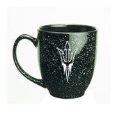 Arizona State Sun Devils 15 oz. Deep Etched Black Bistro Mug