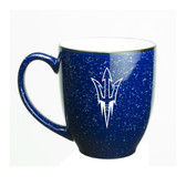 Arizona State Sun Devils 15 oz. Deep Etched Cobalt Bistro Mug
