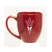Arizona State Sun Devils 15 oz. Deep Etched Red Bistro Mug