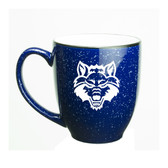 Arkansas State Red Wolves 15 oz. Deep Etched Cobalt Bistro Mug