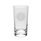 Cal State Fullerton 10 oz. Deep Etched Highball Glass