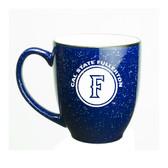 Cal State Fullerton 15 oz. Deep Etched Cobalt Bistro Mug