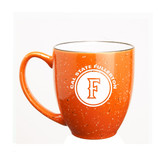 Cal State Fullerton 15 oz. Deep Etched Orange Bistro Mug