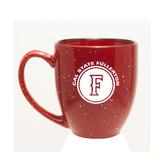 Cal State Fullerton 15 oz. Deep Etched Red Bistro Mug