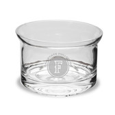 """Cal State Fullerton 5"""" Deep Etched Flair Crystal Candy Bowl"""