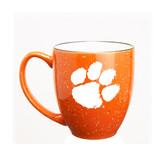 Clemson Tigers 15 oz. Deep Etched Orange Bistro Mug