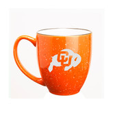 Colorado Buffaloes 15 oz. Deep Etched Orange Bistro Mug