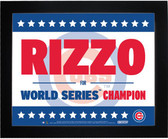 Andrew Rizzo Chicago Cubs 11x14 Framed Presidential Sign
