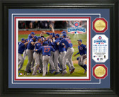 "Chicago Cubs 2016 World Series Champions ""Celebration"" Bronze Coin Photo Mint"