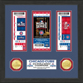 Chicago Cubs 2016 World Series Champions Ticket Collection