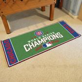 """Chicago Cubs 2016 World Series Champions Baseball Runner Mat 30""""x72"""""""