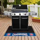 """Chicago Cubs 2016 World Series Champions Grill Mat 26""""x42"""""""