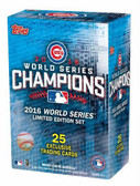 Chicago Cubs 2016 Topps World Series Champions Box Set