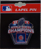 Chicago Cubs 2016 World Series Champs Pin