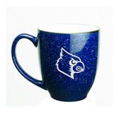 Louisville Cardinals 15 oz. Deep Etched Cobalt Bistro Mug