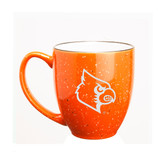 Louisville Cardinals 15 oz. Deep Etched Orange Bistro Mug