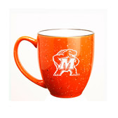 Maryland Terrapins 15 oz. Deep Etched Orange Bistro Mug