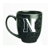 Northeastern Huskies 15 oz. Deep Etched Black Bistro Mug