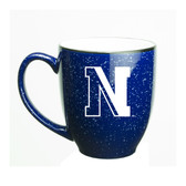 Northeastern Huskies 15 oz. Deep Etched Cobalt Bistro Mug