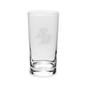 San Diego Tritons 10 oz. Deep Etched Highball Glass