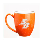 San Diego Tritons 15 oz. Deep Etched Orange Bistro Mug