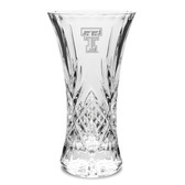"Texas Tech Red Raiders 11.75"" Deep Etched Cristal D'Arques Vase"
