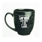 Texas Tech Red Raiders 15 oz Deep Etched Black Bistro Mug