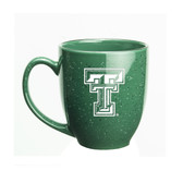 Texas Tech Red Raiders 15 oz Deep Etched Green Bistro Mug