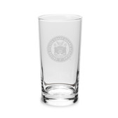 Coast Guard Academy 10 oz Deep Etched Highball Glass