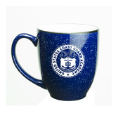 Coast Guard Academy 15 oz Deep Etched Cobalt Bistro Mug