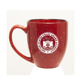 Coast Guard Academy 15 oz Deep Etched Red Bistro Mug
