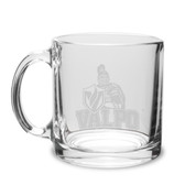 Valparaiso Crusaders 13 oz Deep Etched Clear Glass Coffee Mug