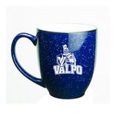 Valparaiso Crusaders 15 oz Deep Etched Cobalt Bistro Mug