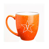 Vanderbilt Commodores 15 oz Deep Etched Orange Bistro Mug