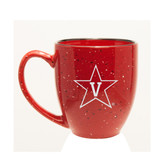 Vanderbilt Commodores 15 oz Deep Etched Red Bistro Mug