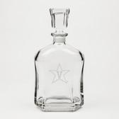 Vanderbilt Commodores Deep Etched Whiskey Decanter