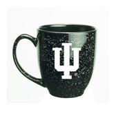 Indiana Hoosiers 15 oz. Deep Etched Black Bistro Mug