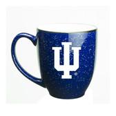 Indiana Hoosiers 15 oz. Deep Etched Cobalt Bistro Mug