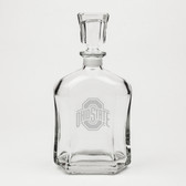 Ohio State Buckeyes Deep Etched Whiskey Decanter